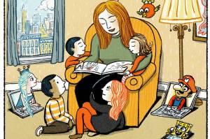 """""""El gran regalo de la lectura en voz alta"""". En: http://on.wsj.com/1M1vM8t"""